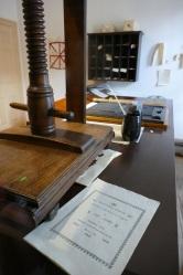 Franklin's Newspaper Office