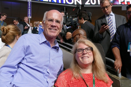 Rep. Peter Welch remembered me